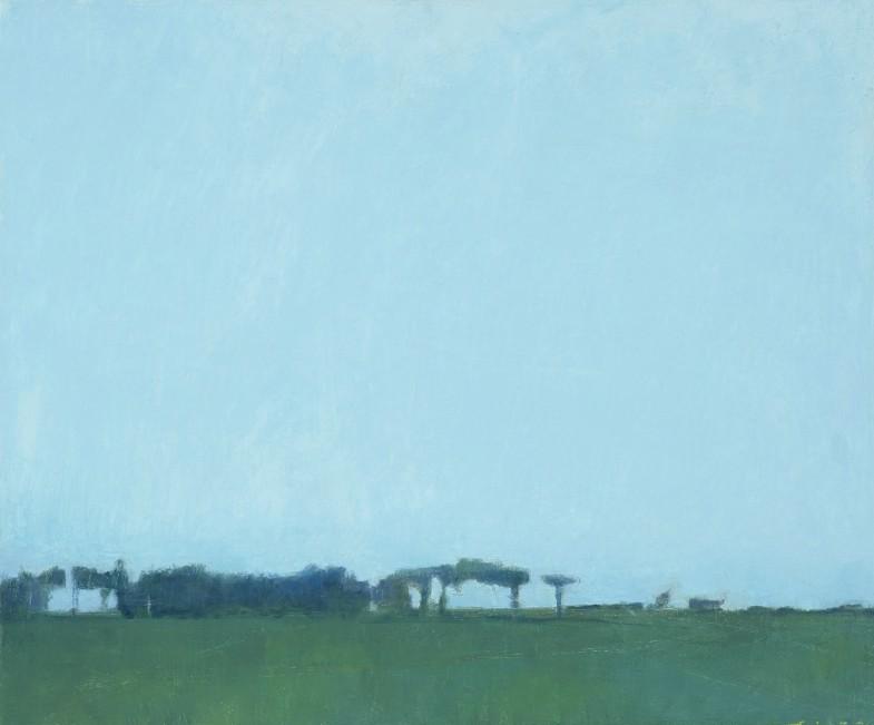 le petit bois(木立のある風景)540×650
